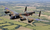 Last two airworthy Lancasters to fly at Wings & Wheels