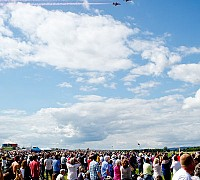 Red Arrows Crowd 1