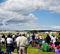 Red Arrows Crowd 2