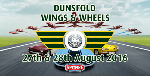 Wings & Wheels airshow and motoring demonstration weekend