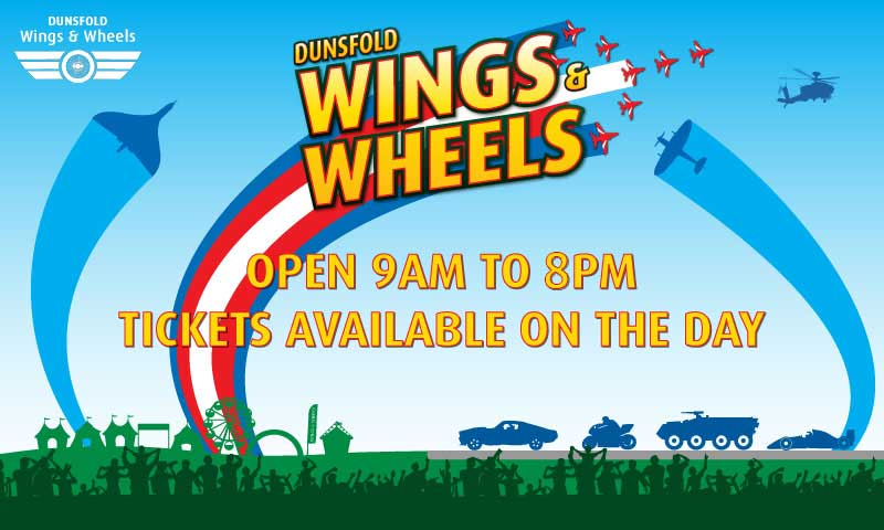 Affordable fun family day out at Wings & Wheels airshow