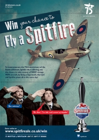 Spitfire soars into action at Wings & Wheels for worthy cause