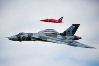Farewell display for Vulcan at Wings & Wheels