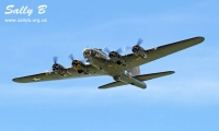 The B-17 Flying Fortress Sally B joins the Wings & Wheels line-up