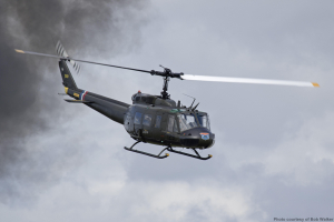 World Famous 'Huey' Joins Wings & Wheels Airshow