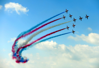 Red Arrows return to the home of the Hawk this August Bank Holiday
