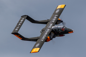 NEW OV-10 Bronco Joins Wings & Wheels Display