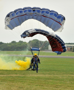 Tigers Parachute Team will be dropping in at Wings & Wheels